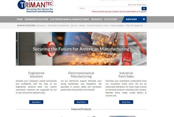 trimantec web development
