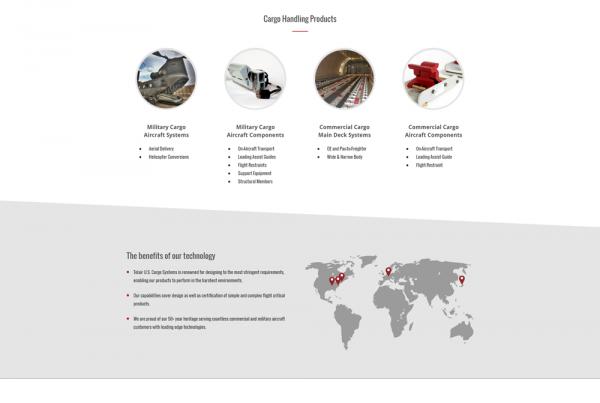 U.S. Cargo Systems web design