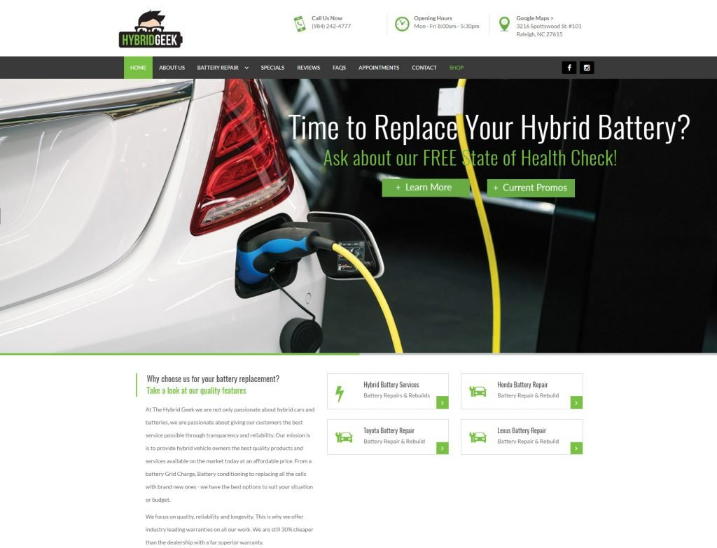 New website launch: The Hybrid Geek