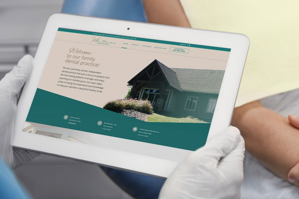 A. Claire Wilson DDS | Dentist Website Design